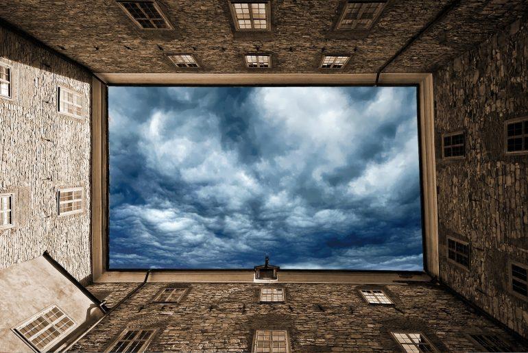 modrá obloha, život snov