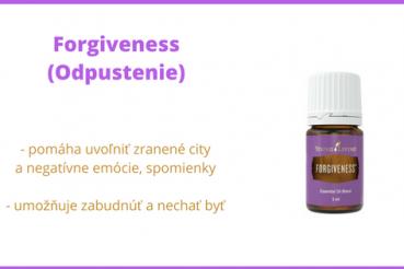zmes esenciálnych olejov odpustenie