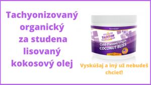 tachyonizovaný panenský kokosový olej